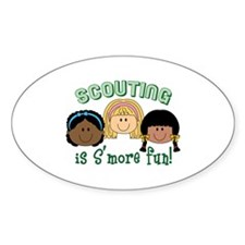 Scouting Is S'more Fun! Decal