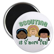 Scouting Is S'more Fun! Magnets