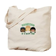 Scouting Is S'more Fun! Tote Bag