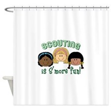 Scouting Is S'more Fun! Shower Curtain