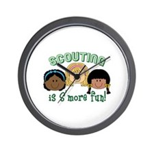 Scouting Is S'more Fun! Wall Clock