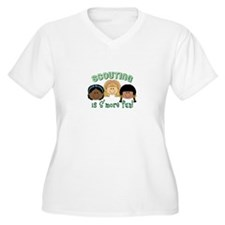 Scouting Is S'more Fun! Plus Size T-Shirt