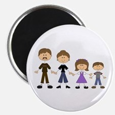 STICK FIGURE FAMILY Magnets