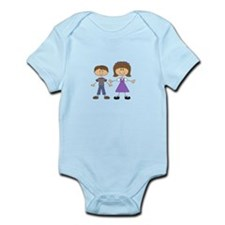 BIG SISTER LITTLE BROTHER Body Suit