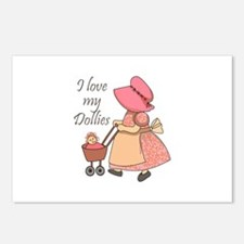 I LOVE MY DOLLIES Postcards (Package of 8)