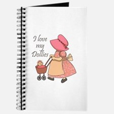 I LOVE MY DOLLIES Journal