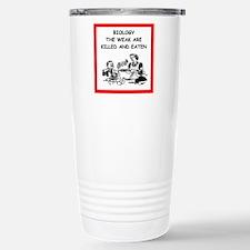 biology Travel Mug