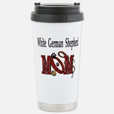 Cute White shepherd Travel Mug