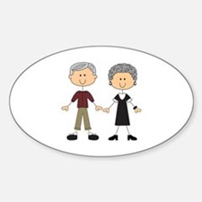 GRANDPA AND GRANDMA Decal