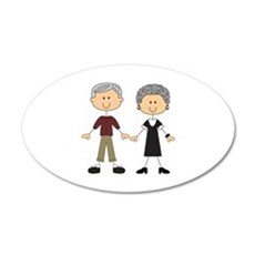 GRANDPA AND GRANDMA Wall Decal