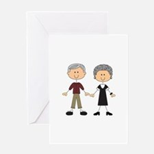 GRANDPA AND GRANDMA Greeting Cards