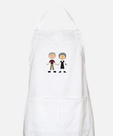 GRANDPA AND GRANDMA Apron