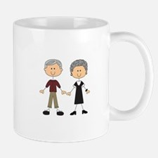 GRANDPA AND GRANDMA Mugs
