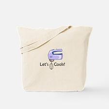 LETS COOK Tote Bag