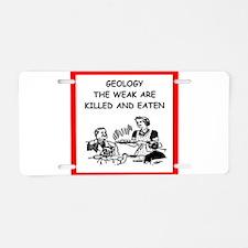 geologist Aluminum License Plate
