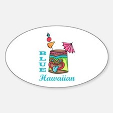 BLUE HAWAIIAN Decal
