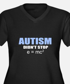 Autism vs. genius Plus Size T-Shirt
