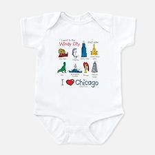 Center Infant Bodysuit