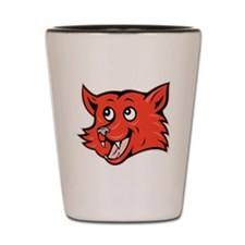 Fox Head Shot Glass