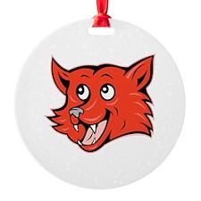 Fox Head Ornament