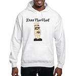 kiss the chef Hooded Sweatshirt