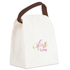 CELEBRATE LIVING Canvas Lunch Bag