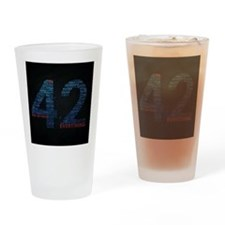 The universe Drinking Glass
