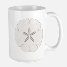 Sand Dollar Heart Mugs