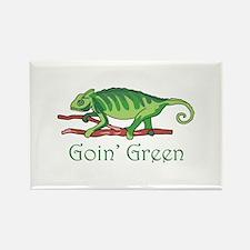 GOIN GREEN LIZARD Magnets