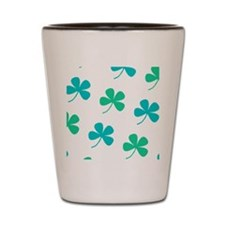 4 Leaf Clover St. Paddys Day Bagpipes Shot Glass