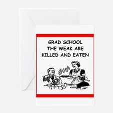 grad student Greeting Cards