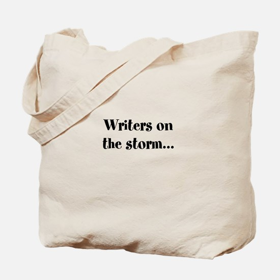 Writers On the Storm Tote Bag