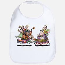 Clown Car 5-15 Bib