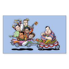 Clown Car 5-15 Decal
