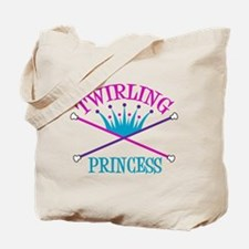 Twirling Princess Tote Bag