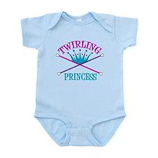 Twirling Princess Infant Bodysuit
