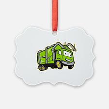 Rubbish Truck Ornament