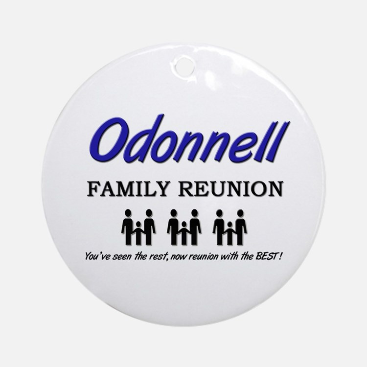 Odonnell Family Reunion Ornament (Round)