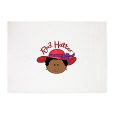 RED HATTER 5'x7'Area Rug