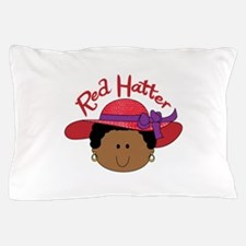 RED HATTER Pillow Case