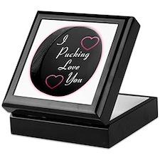 Puck Love Keepsake Box