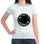What the Duck: Dial Jr. Ringer T-Shirt