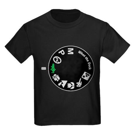 What the Duck: Dial Kids Dark T-Shirt