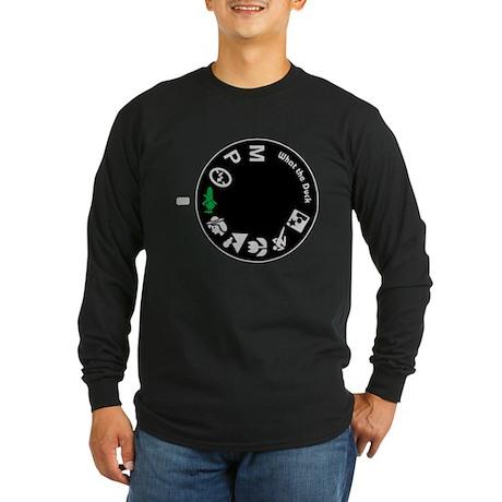 What the Duck: Dial Long Sleeve Dark T-Shirt