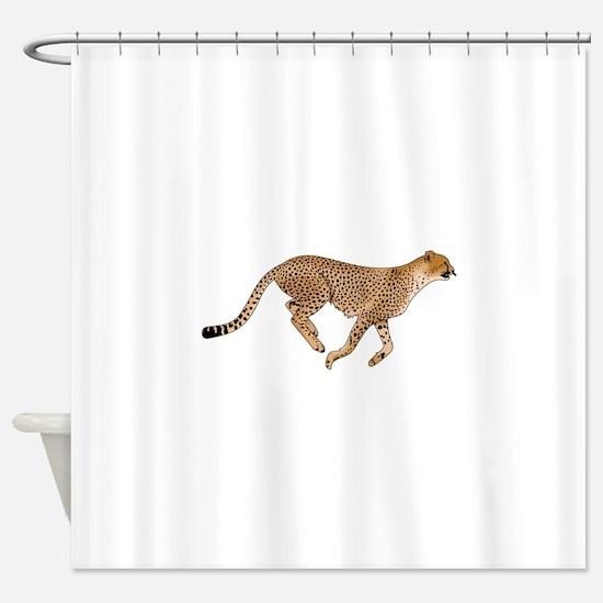 CHEETAH Shower Curtain