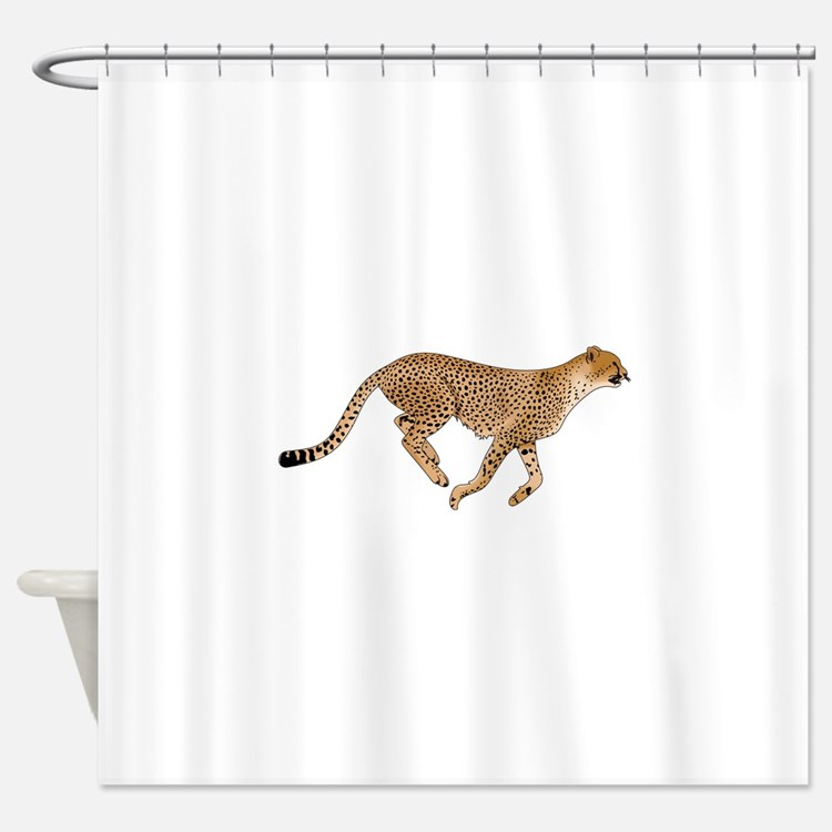 the best 28 images of cheetah shower curtain cheetah print shower curtains zazzle blue. Black Bedroom Furniture Sets. Home Design Ideas