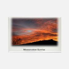 Massanutten Sunrise Rectangle Magnet