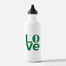 Nigerian LOVE Soccer Water Bottle