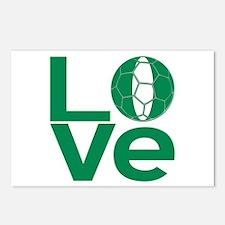 Nigerian LOVE Soccer Postcards (Package of 8)