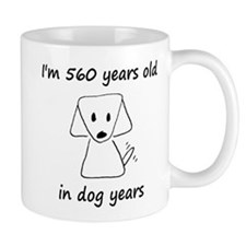 80 dog years 6 Mugs